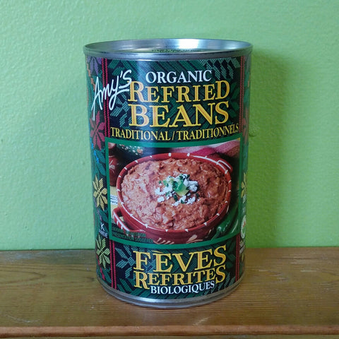 Amy's Organic Refried Beans Traditional - V Word Market - Vegan Grocery - Delivered.