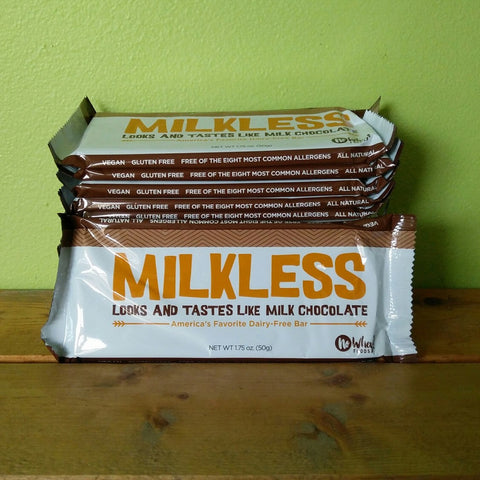 Premium Chocolatiers - Milkless Vegan, Milk Free, Nut Free Chocolate Bar - V Word Market - Vegan Grocery - Delivered.