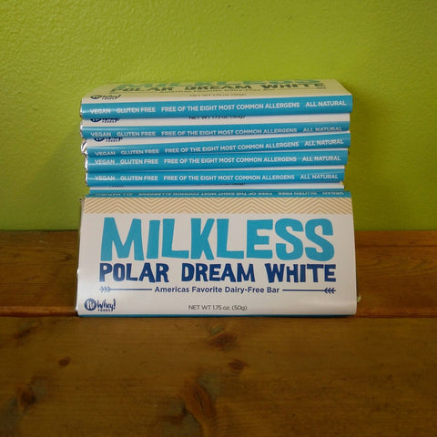 No Whey Foods - Milkless Polar Dream White Chocolate Bar - V Word Market - Vegan Grocery - Delivered.