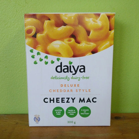 Daiya Cheezy Mac - Deluxe Cheddar-Flavour - V Word Market - Vegan Grocery - Delivered.