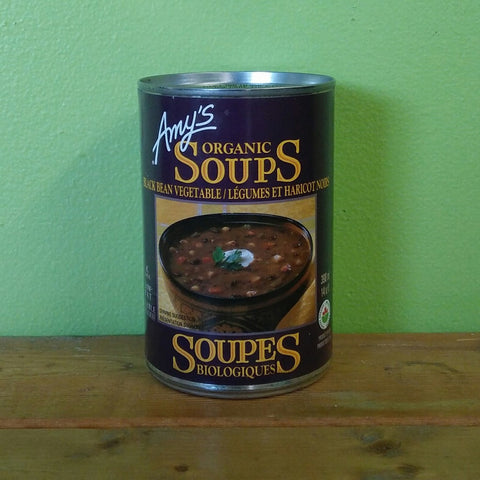 Amy's Kitchen - Organic Black Bean Vegetable Soup - V Word Market - Vegan Grocery - Delivered.