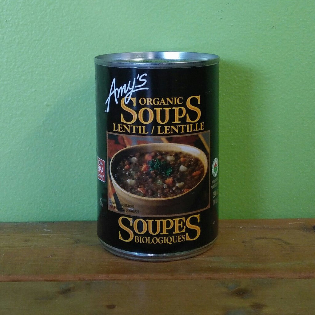 Amy's Organic Lentil Soup - V Word Market - Vegan Grocery - Delivered.