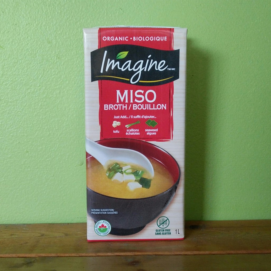 Imagine Foods – Miso Broth (1L) - V Word Market - Vegan Grocery - Delivered.