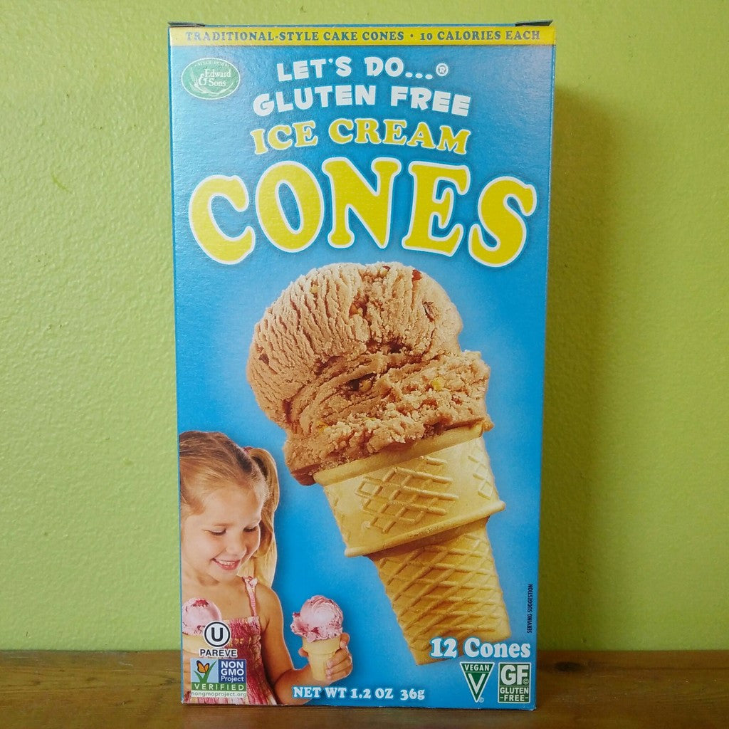 Let's Do... - Gluten Free Ice Cream Cones - V Word Market - Vegan Grocery - Delivered.