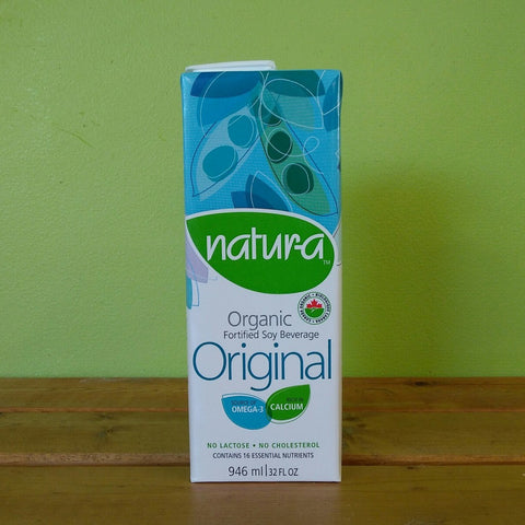 Natur-a - Original Organic Soy Beverage (946ml) - V Word Market - Vegan Grocery - Delivered. - 1