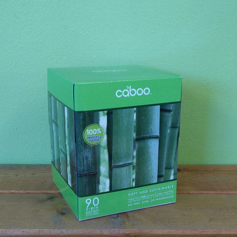 Caboo - Facial Tissue Cube - V Word Market - Vegan Grocery - Delivered.