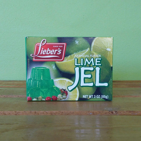 Lieber's - Lime Jel (Vegan Gelatin) - V Word Market - Vegan Grocery - Delivered. - 1