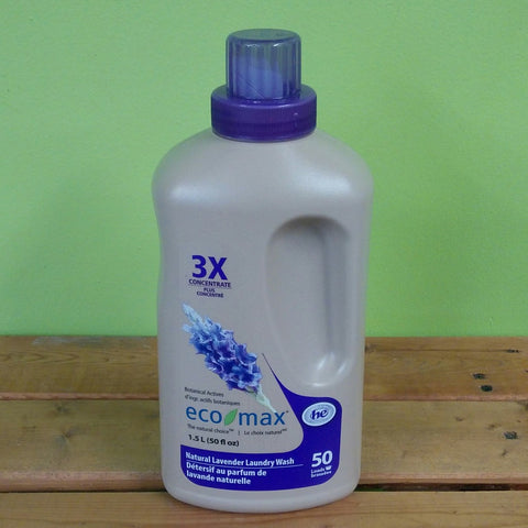 EcoMax - 3X Natural Lavender Laundry Wash - 50 loads