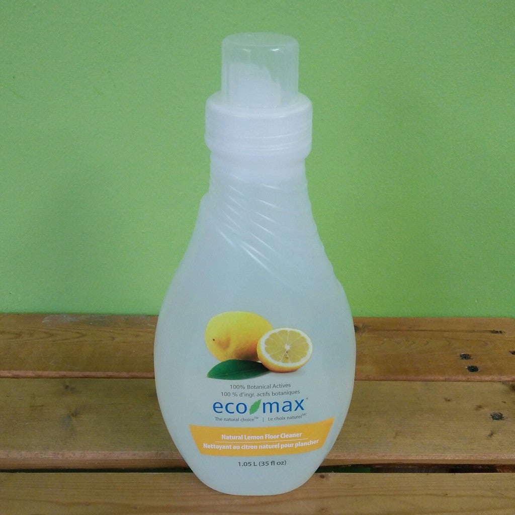 EcoMax - Floor Cleaner, Concentrated, Natural Lemon Scent