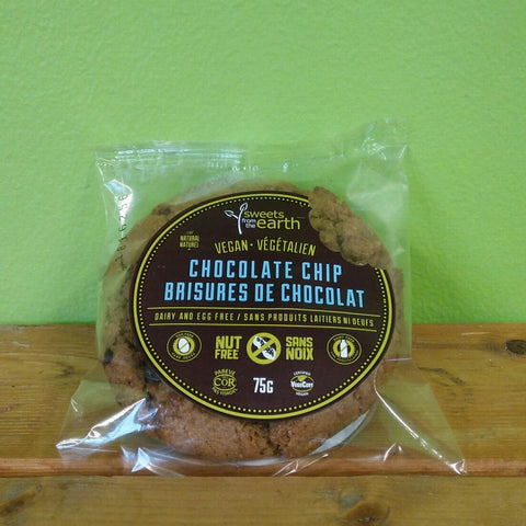 Sweets from the Earth - Chocolate Chip Cookie - V Word Market - Vegan Grocery - Delivered.