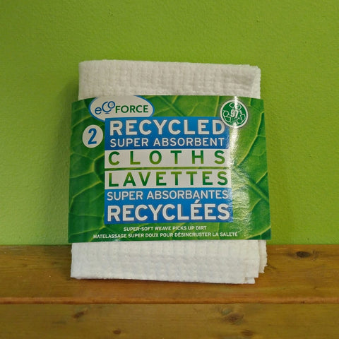 Ecoforce Quilted Cloths (Twin Pack) - V Word Market - Vegan Grocery - Delivered.