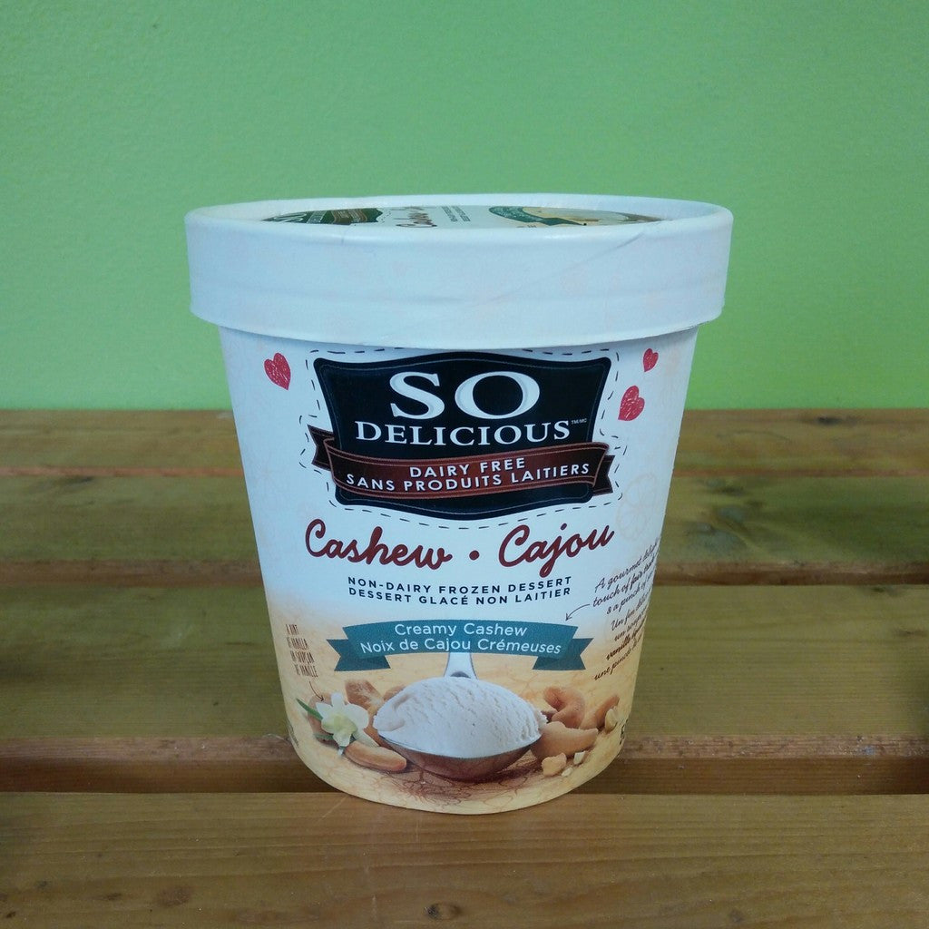 So Delicious - Creamy Cashew Frozen Dessert - V Word Market - Vegan Grocery - Delivered.