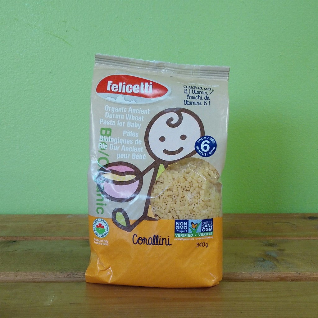 Felicetti - Corallini - Pasta for Baby - V Word Market - Vegan Grocery - Delivered.