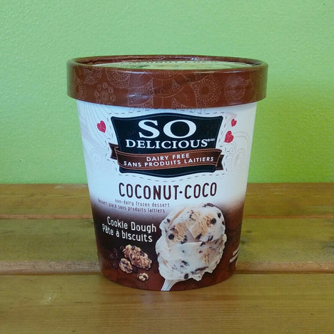 So Delicious - Gluten Free Coconut Cookie Dough Frozen Dessert - V Word Market - Vegan Grocery - Delivered.