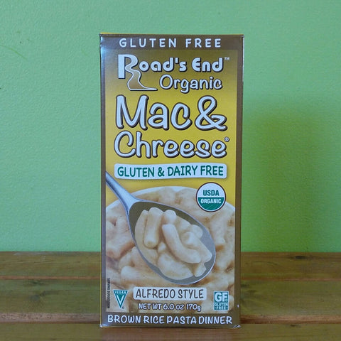 Road's End Organics - Mac & Chreese - Alfredo Style - V Word Market - Vegan Grocery - Delivered.
