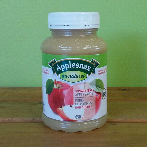 Applenax - Unsweetened Apple Sauce - V Word Market - Vegan Grocery - Delivered.