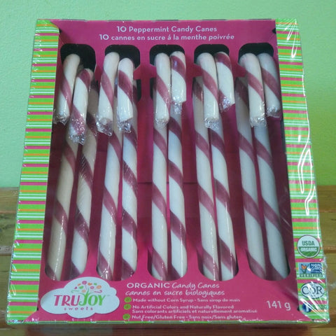 TruJoy Sweets - Organic Candy Canes - V Word Market - Vegan Grocery - Delivered.