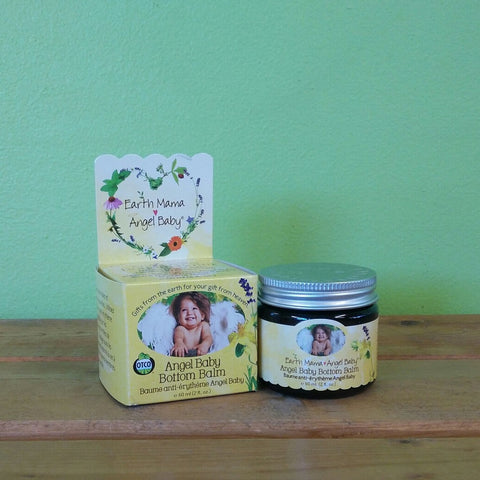 Earth Mama Angel Baby - Angel Baby Bottom Balm (60 mL) - V Word Market - Vegan Grocery - Delivered.