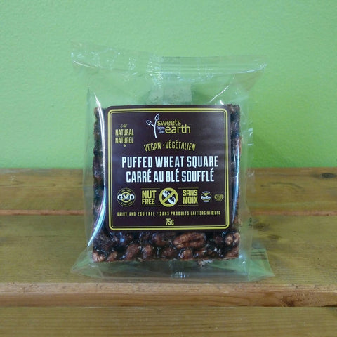 Sweets From The Earth - Puffed Wheat Square (75g) - V Word Market - Vegan Grocery - Delivered.