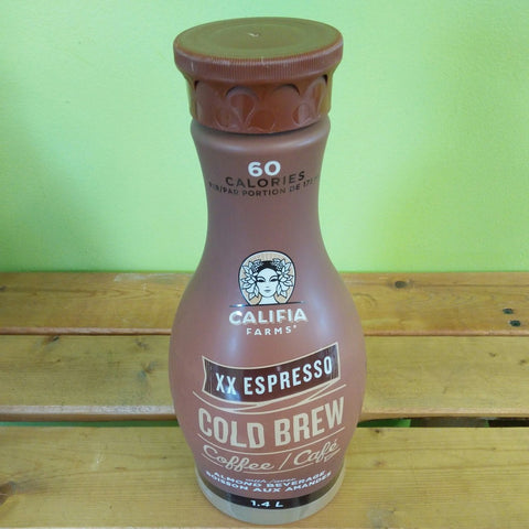 Califia Farms - XX Espresso Cold Brew Coffee w/ Almond Milk (1.4L) - V Word Market - Vegan Grocery - Delivered.