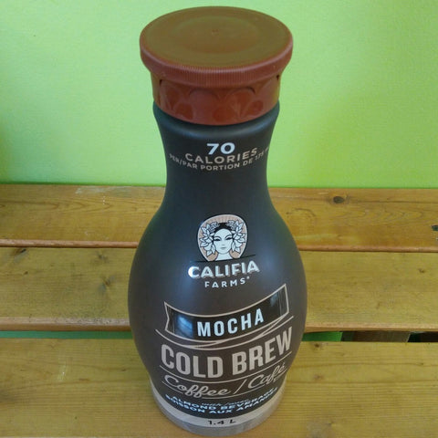Califia Farms - Mocha Cold Brew Coffee w/ Almond Milk (1.4L) - V Word Market - Vegan Grocery - Delivered.
