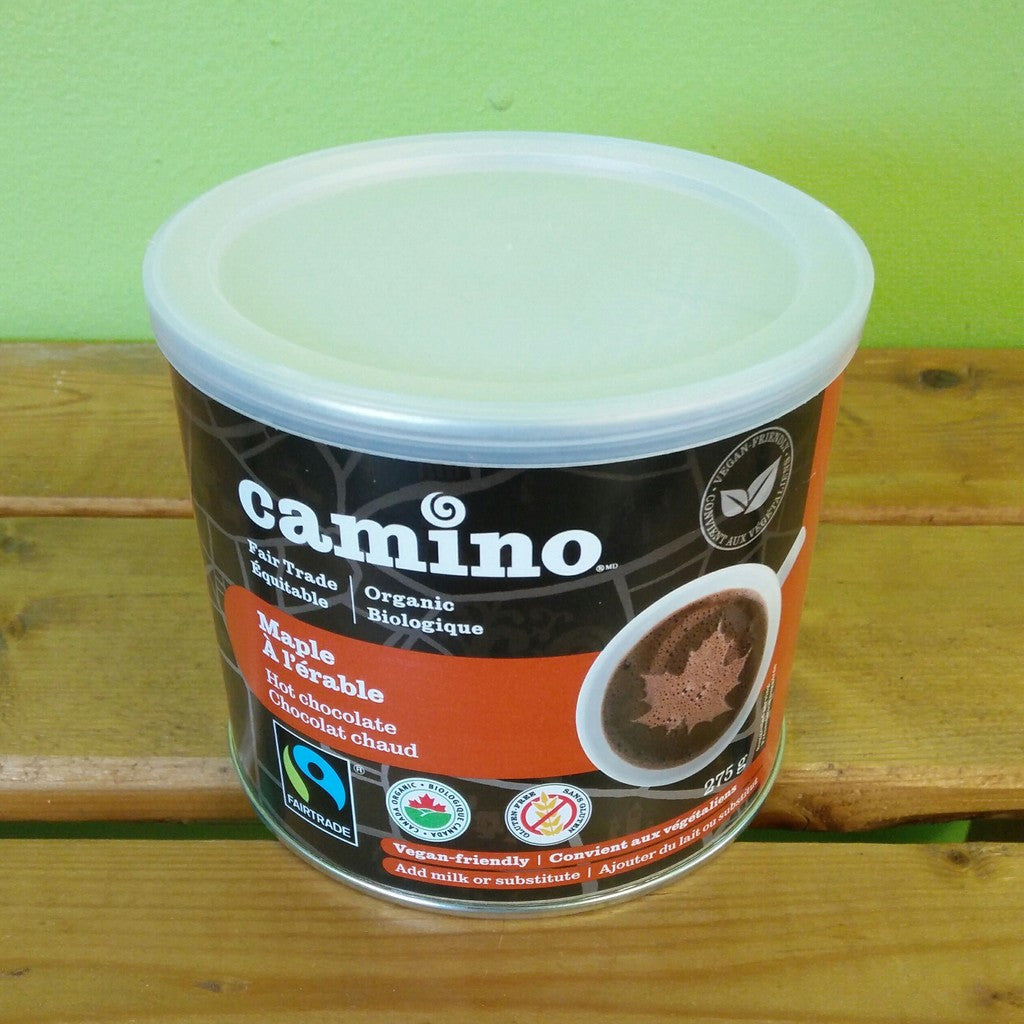 Camino - Maple Organic Hot Chocolate - V Word Market - Vegan Grocery - Delivered.
