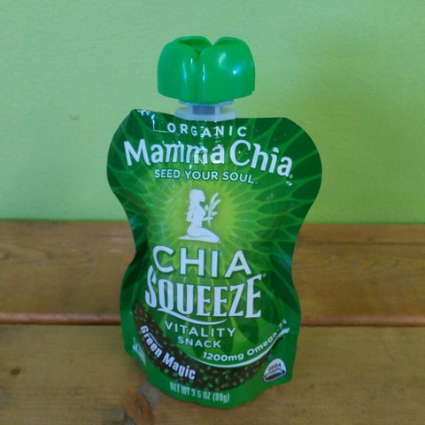 Mamma Chia - Chia Squeeze (single packet) (99g) - V Word Market - Vegan Grocery - Delivered.
