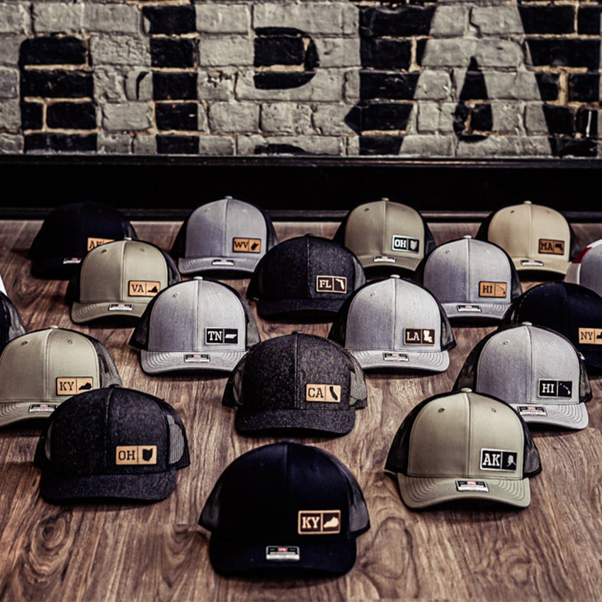 America's Best Leather Patch Hats – Patriot Freedom Co - Patriotic Hats