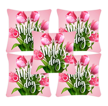 Load image into Gallery viewer, Mom's Gift Digital Printed Canvas Cushion Cover Set of 5