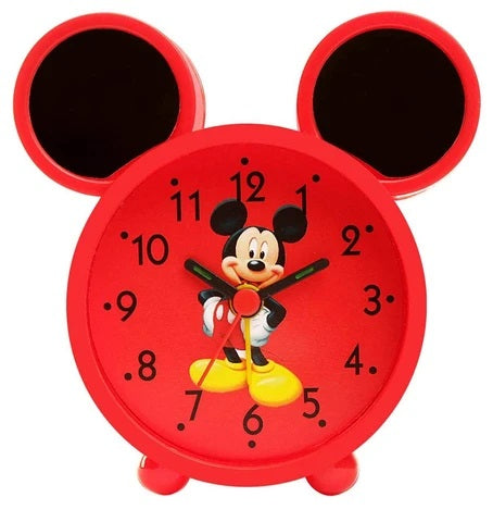 Mickey Mouse Red Color Alarm Clock