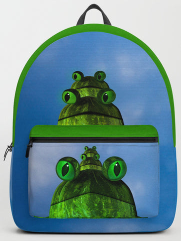 frog face backpack