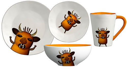 Monster dinner set