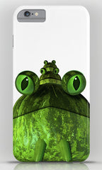 Frog face iphone