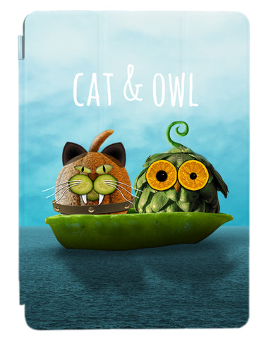 Owl & Cat ipad