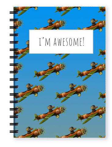 flying high pencil case