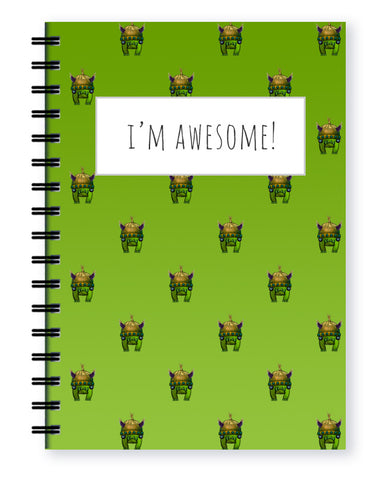 monster note book