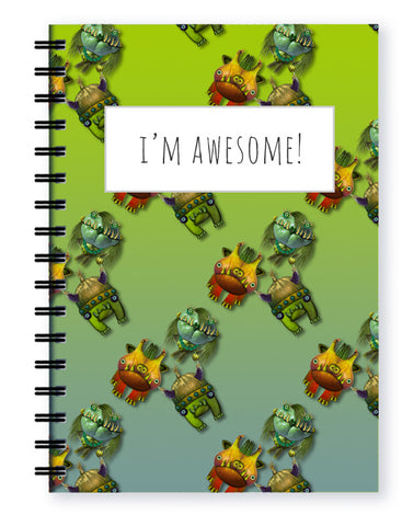 more monsters notebook