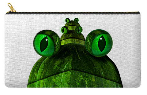 frog face pencil case