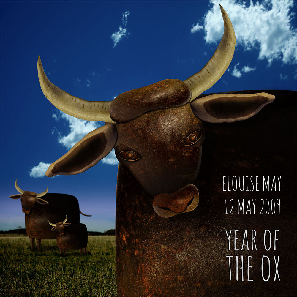Year of the Ox - CUSTOM