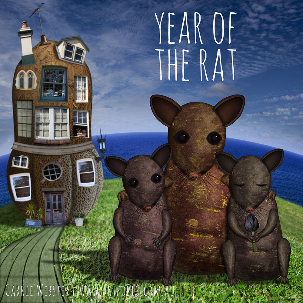 Year of the Rat - PERSONALISED