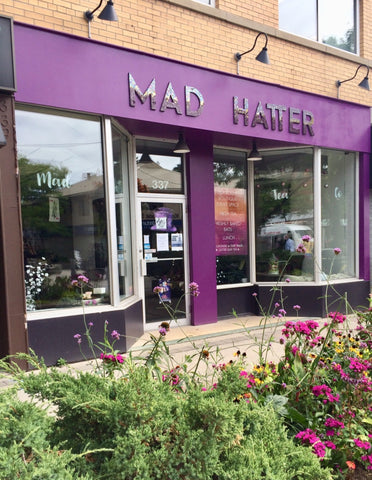Mad Hatter Tea Co. - Store Sign