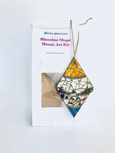 Rhombus Shape Mosaic Art Kit