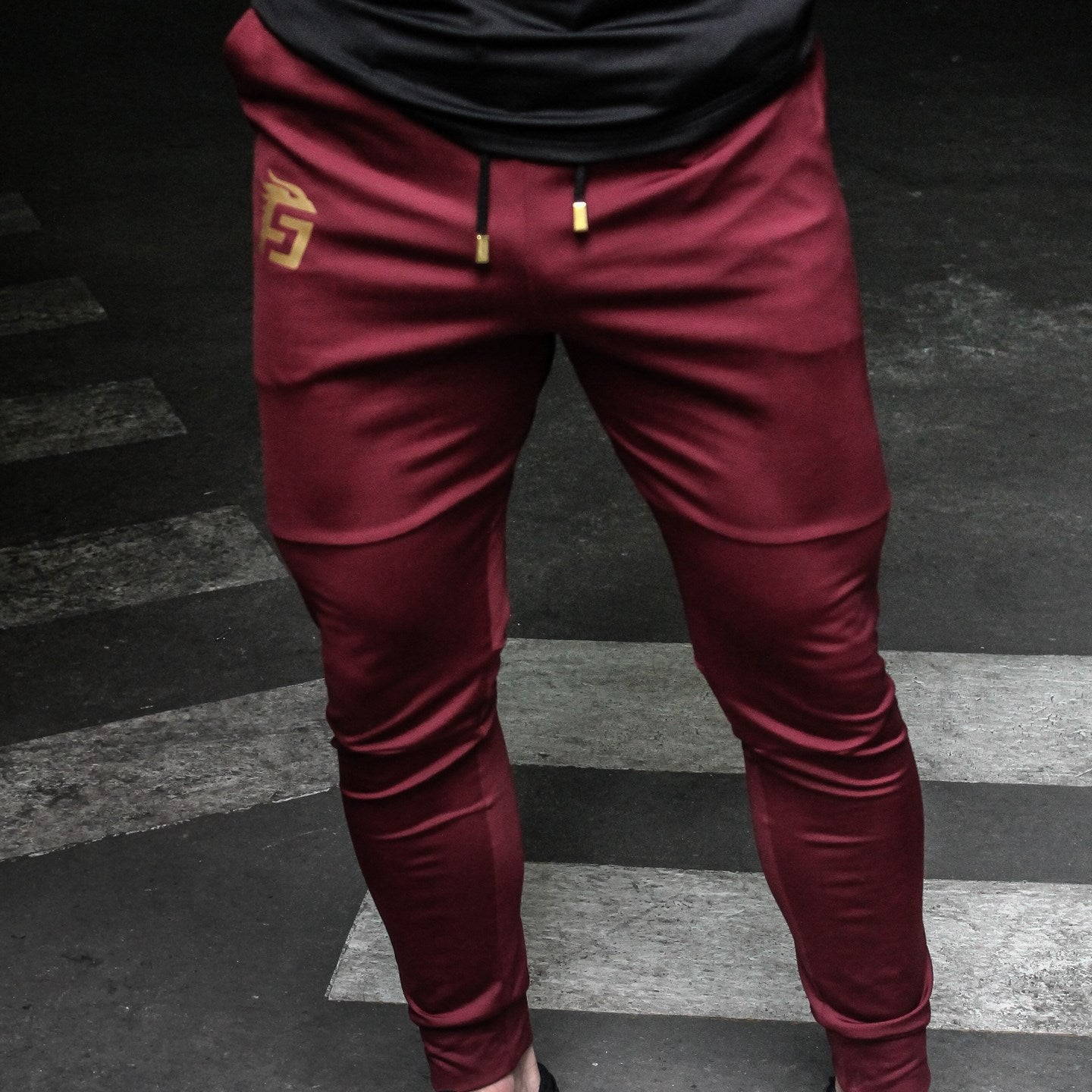 Jogger Obsidian Red Wine