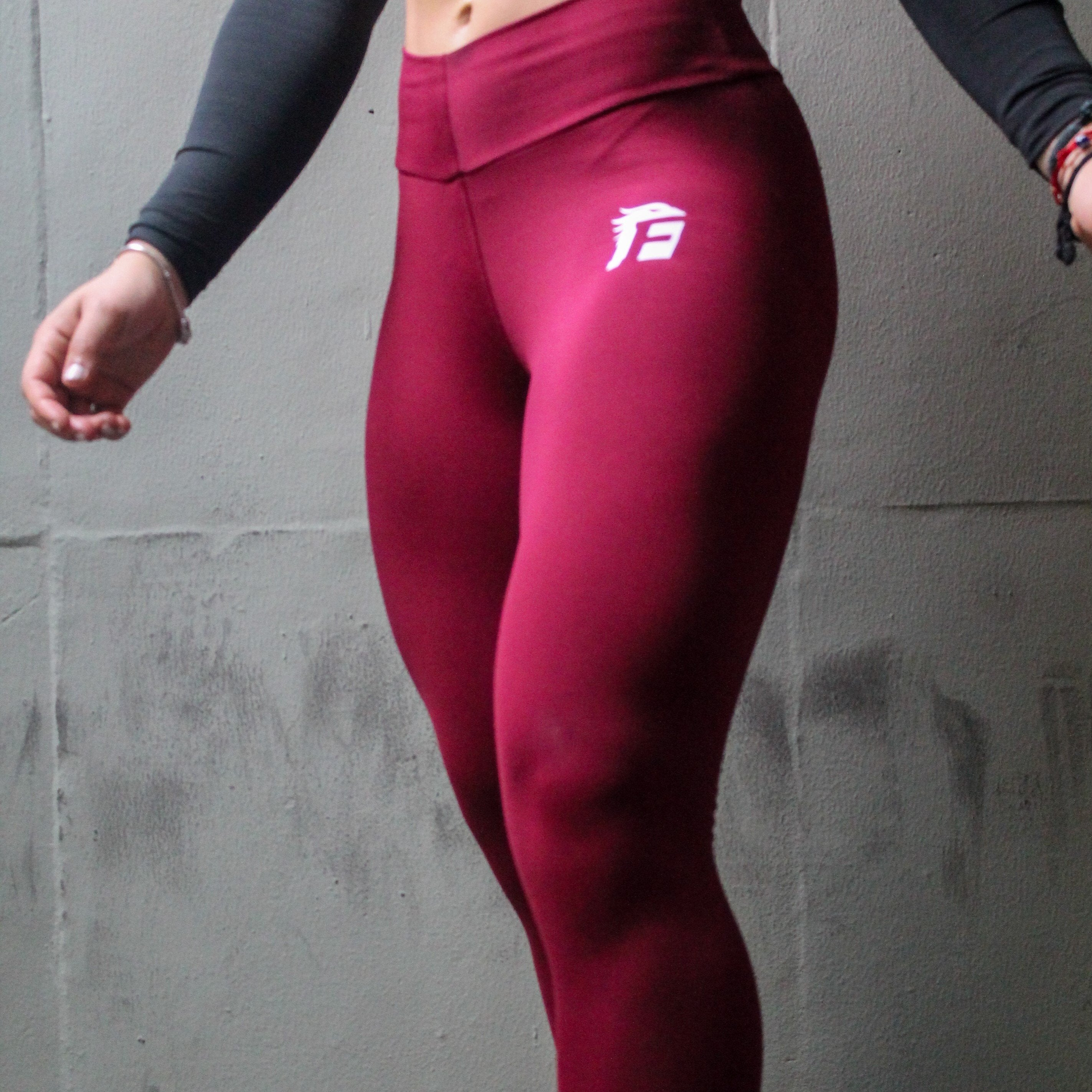 Iconic LeggingRed Wine
