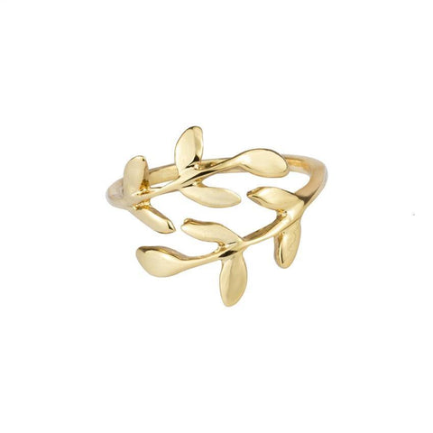 Fashion Open Leaf Rings - Borderline  Beauty