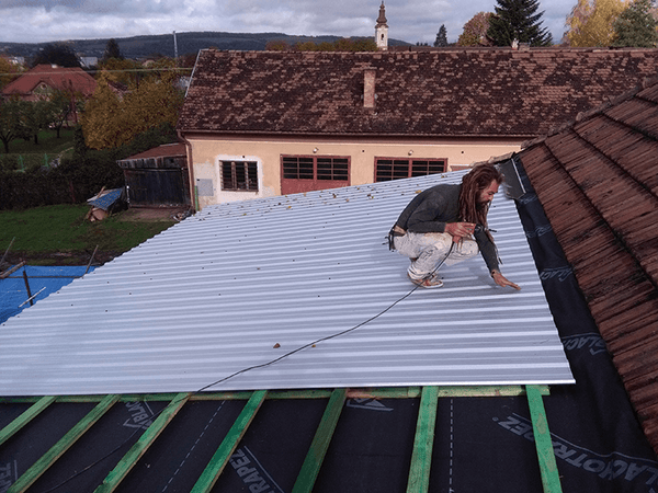Tin roof replacement 08