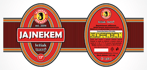 Jajnekem Dark Lager - Label