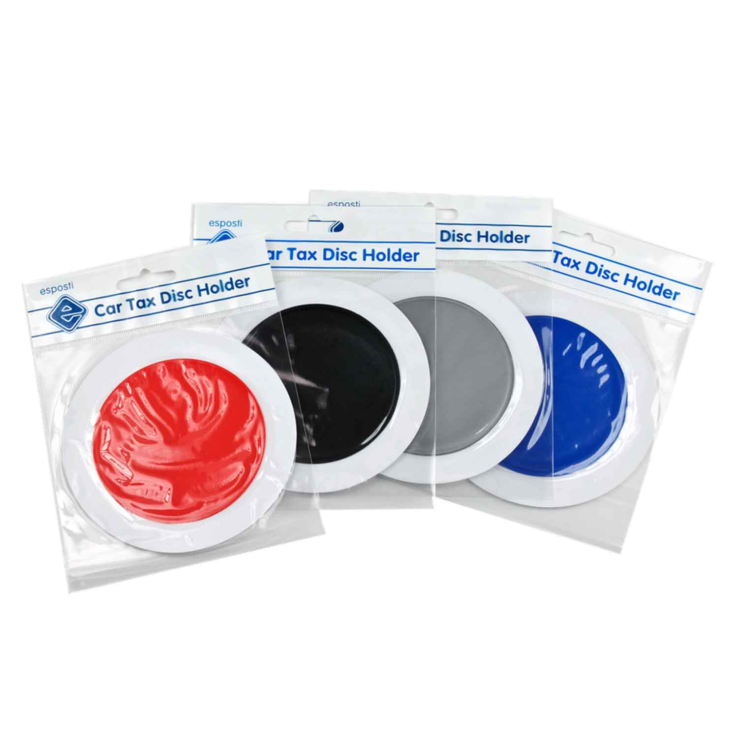 Circular Permit Holder - Car Tax Disc Holders - Pack of 20