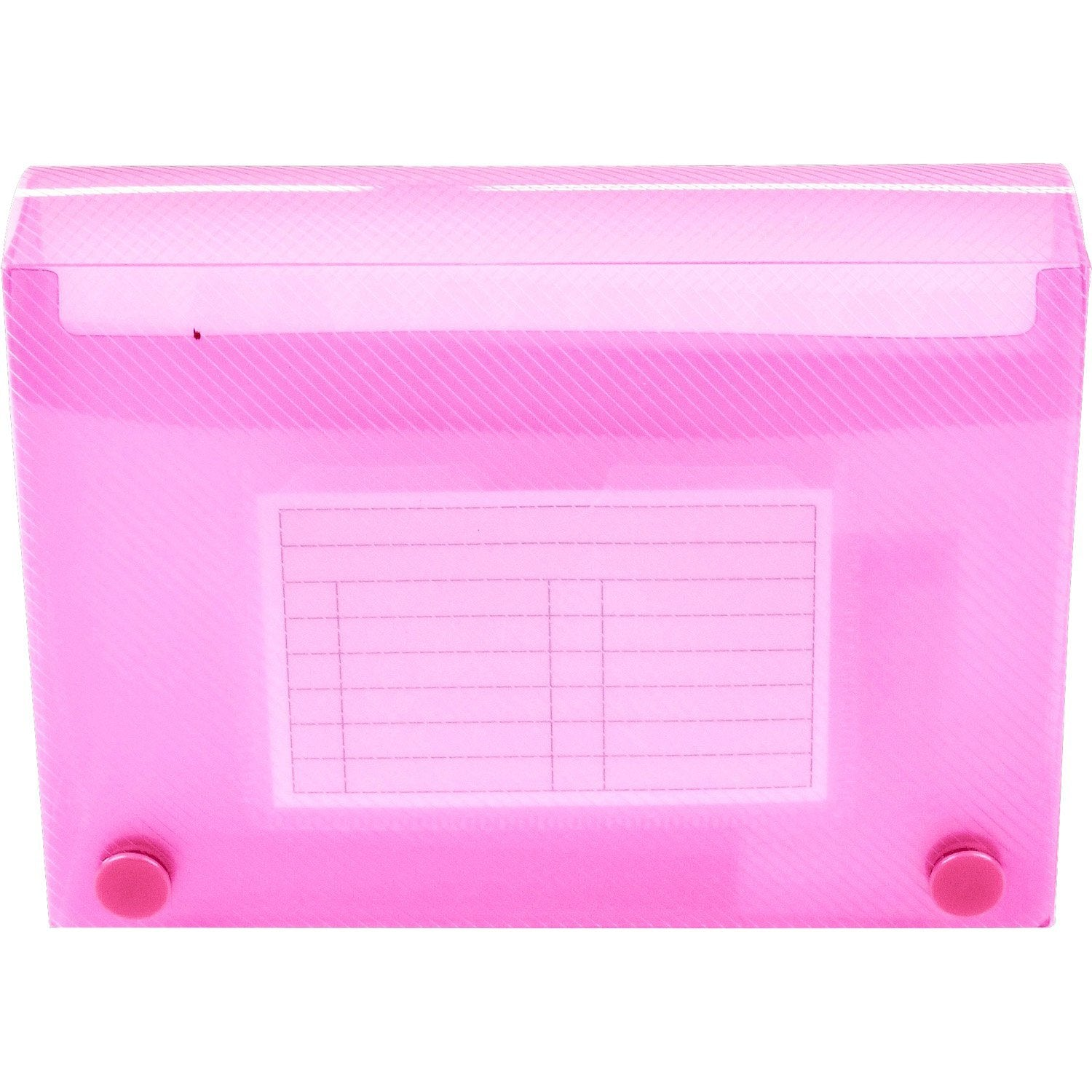 Esposti Student Revision Record Card Holder - 150 Capacity - 6 x 4 Inch - Pink