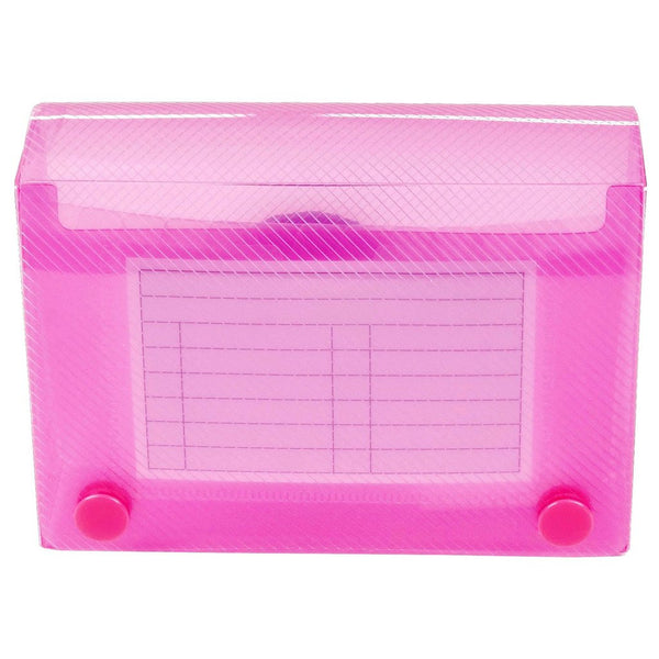 Esposti Record Card Holder - 5 x 3 Inch - New Stronger Improved Construction - Student Revision Card Holder - Pink - EL808-Pink - 5022383773840